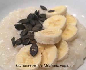Milchreis vegan